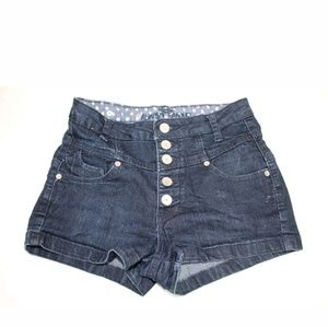 Almost Famous Women's Shorts Size 5 Cotton High-wa